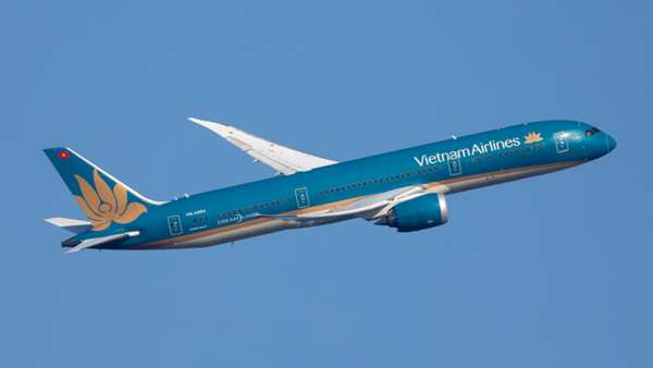VN-A864. Boeing 787-9 Dreamliner. Vietnam Airlines. Heathrow. 070220.