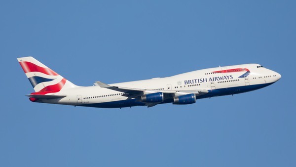 G-CIVR. Boeing 747-436. British Airways. Heathrow. 070220.