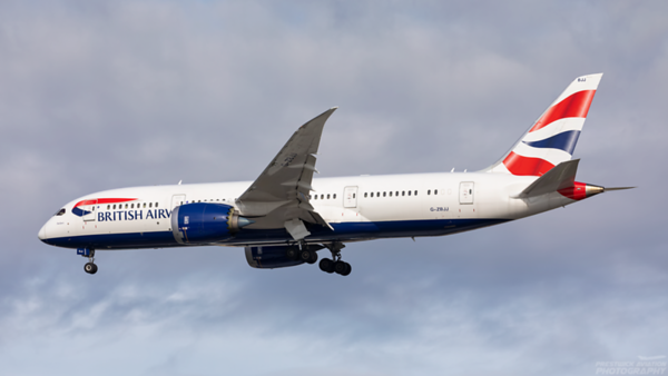 G-ZBJJ. Boeing 787-8  Dreamliner. British Airways. Heathrow. 091020.