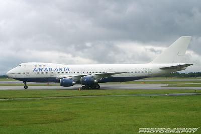 TF-ARG.  Boeing 747-236B. Air Atlanta Europe.  Manchester. 170704.