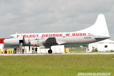 N41626. Convair CV-340. Miami Air Lease. Opa Locka. 280904.