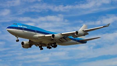PH-BFF. Boeing 747-406M. KLM. Los Angeles. 180905.