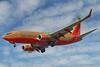 N737LV. Boeing 737-7H4(WL). Southwest. Los Angeles. 180905.