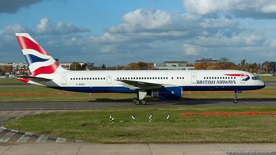 G-BPED. Boeing 757-236. British Airways. Heathrow. 291007.