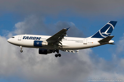 YR-LCA. Airbus A310-325. Tarom. Heathrow. 291007.