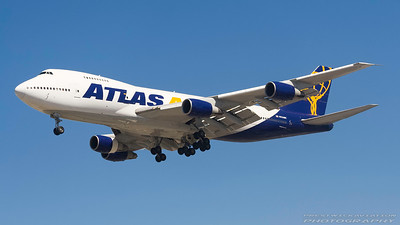 N526MC. Boeing 747-2D7B(SF). Atlas Air. Los Angeles. 240906.