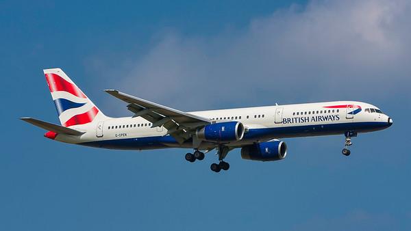 G-CPEN. Boeing 757-236. British Airways. Heathrow. 300808.
