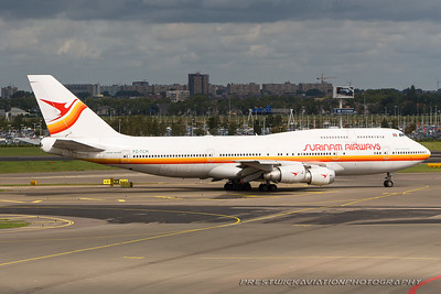 PZ-TCM. Boeing 747-306M. Surinam Airways. Amsterdam. 020907.