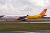 A7-AEF. Airbus A330-302. Qatar Airways. Manchester. 310308.
