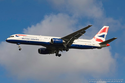 G-CPES. Boeing 757-236. British Airways. Heathrow. 291007.