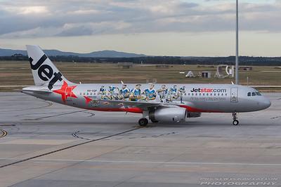 VH-VQP. Airbus A320-232. Jetstar. Melbourne. 101207.