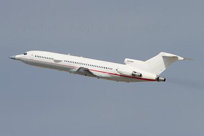 N289MT Boeing 727-223/Adv. Raytheon Flight Test. Los Angeles. 220910.