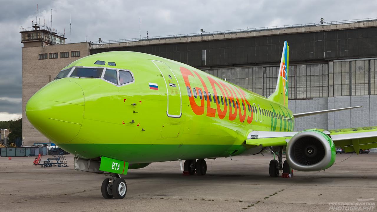 VP-BTA. Boeing 737-4Q8. Globus Airlines. Domodedovo. 200809.