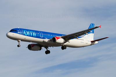 G-MEDL. Airbus A321-231. BMI. Heathrow. 301010.