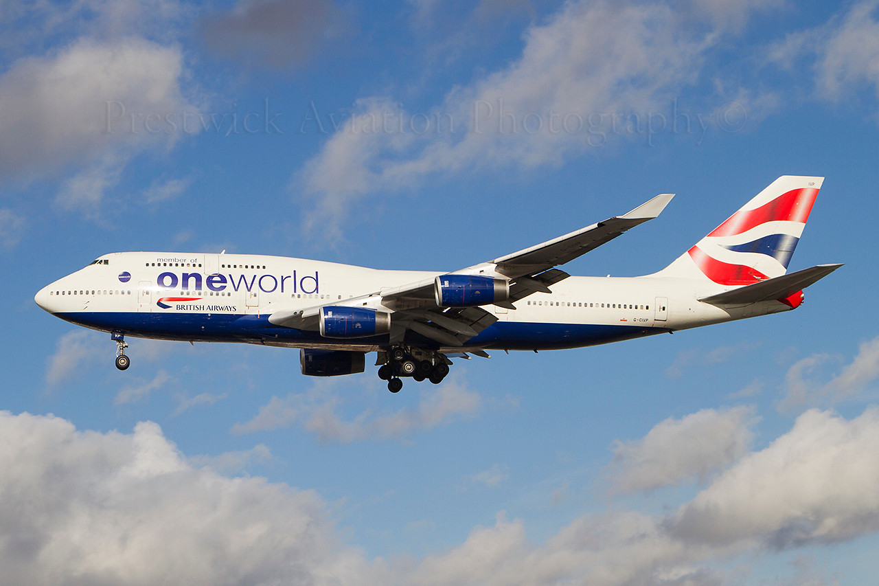G-CIVP. Boeing 747-436. British Airways. Heathrow. 301010.