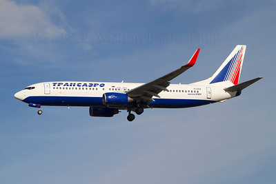 EI-EDZ. Boeing 737-8K5. Transaero Airlines. Heathrow. 301010.