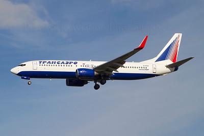 EI-EDZ. Boeing 737-8K5. Transaero Airlines. Heathrow. 301010.