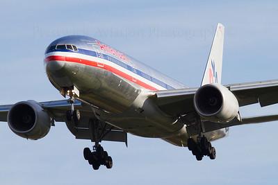 N752AN. Boeing 777-223/ER. American Airlines. Heathrow. 301010.