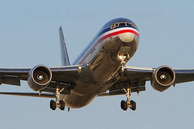 N396AN. Boeing 767-323/ER. American Airlines. Los Angeles. 230910.