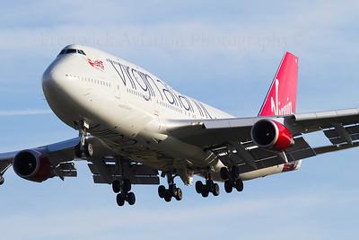G-VROC. Boeing 747-41R. Virgin Atlantic. Heathrow. 301010.