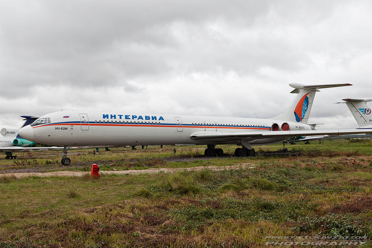 RA-86575. Ilyushin IL-62M. Interavia. Domodedovo. 200809.