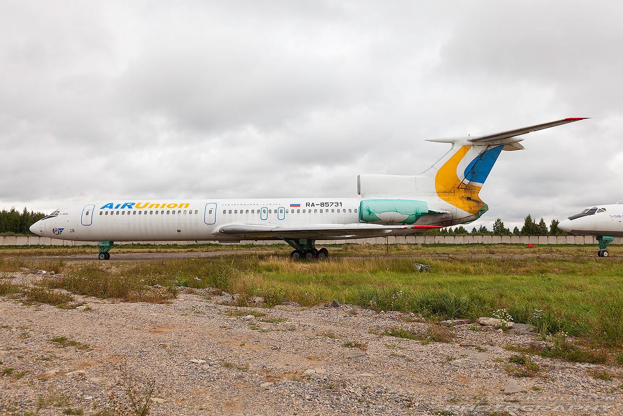 RA-85731. Tupolev Tu-154M. Air Union. Domodedovo. 200809.