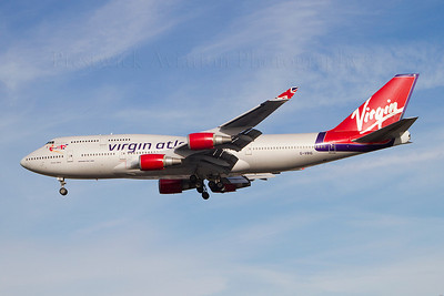G-VBIG. Boeing 747-4Q8. Virgin Atlantic. Heathrow. 301010.