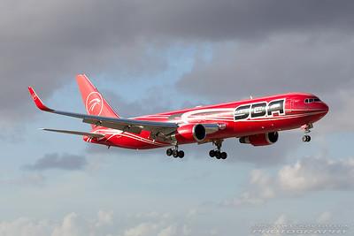 YV612T. Boeing 767-3S1(ER). SBA. Miami. 281116.