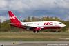 N322DL. Boeing 737-232(Adv)(SF). Northern Air Cargo. Anchorage. 090516.