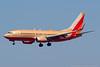 N714SW. Boeing 737-7H4. Southwest. Los Angeles. 160916.
