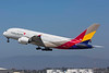 HL7634. Airbus A380-841. Asiana Airlines. Los Angeles. 160916.