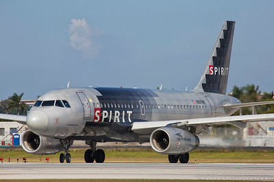 N507NK. Airbus A319-132. Spirit Airlines. Fort Lauderdale. 271116.