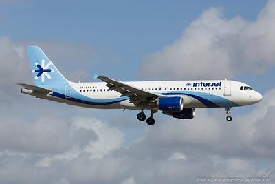 XA-BAV. Airbus A320-214. Interjet. Miami. 281116.