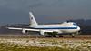 75-0125. Boeing E-4B. USAF. Zurich. 220116.