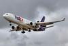 N602FE. McDonnell Douglas MD-11F. FedEx. Los Angles. 070515.