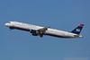 N155UW. Airbus A321-211. US Airways. Los Angeles. 250916.