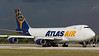 N475MC. Boeing 747-47UF/SCD. Atlas Air. Miami. 241116.