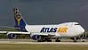 N475MC. Boeing 747-47UF/SCD. Atlas Air. Miami. 241116.