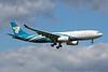 A40-DA. Airbus A330-243. Oman Air. Heathrow. 230416.