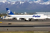 N450PA. Boeing 747-46NF/SCD. Polar Air Cargo. Anchorage. 070516.