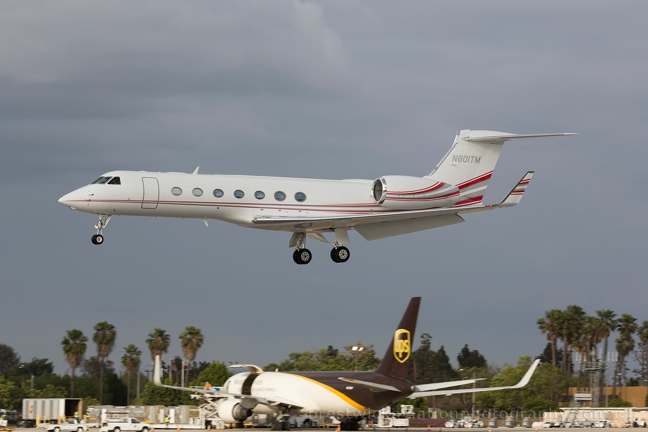N801TM.  Gulfstream Aerospace G-V-SP. Private. Long Beach. 060515.