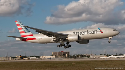 N794AN. Boeing 777-223(ER). American Airlines. Miami. 271116.