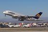 D-AIMC. Airbus A380-841. Lufthansa. Los Angeles. 250916.
