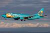 N791AS. Boeing 737-490. Alaska Airlines. Anchorage. 070516.
