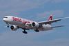 HB-JNA. Boeing 777-3DE(ER). Swiss. Los Angeles. 200916.