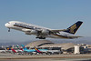 9V-SKL. Airbus A380-841. Singapore Airlines. Los Angeles. 250916.