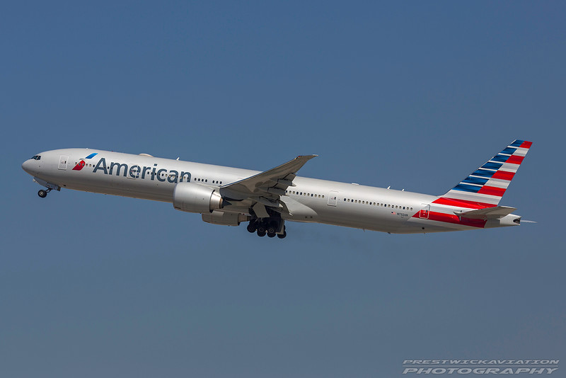 N732AN. Boeing 777-323(ER). American Airlines. Los Angeles. 160916.