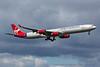 G-VWKD. Airbus A340-642. Virgin Atlantic. Heathrow. 230416.