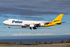 N851GT. Boeing 747-87UF/SCD. Polar Air Cargo(DHL). Anchorage. 070516.