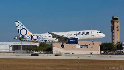 N569JB. Airbus A321-231. Jet Blue. Fort Lauderdale. 271116.